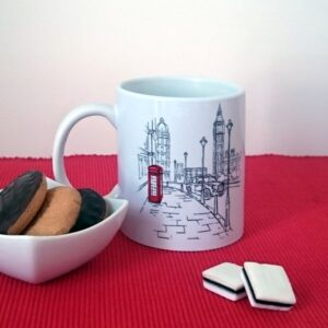 Personalised I Love London Mug - Designer Mugs - Talex Interiors