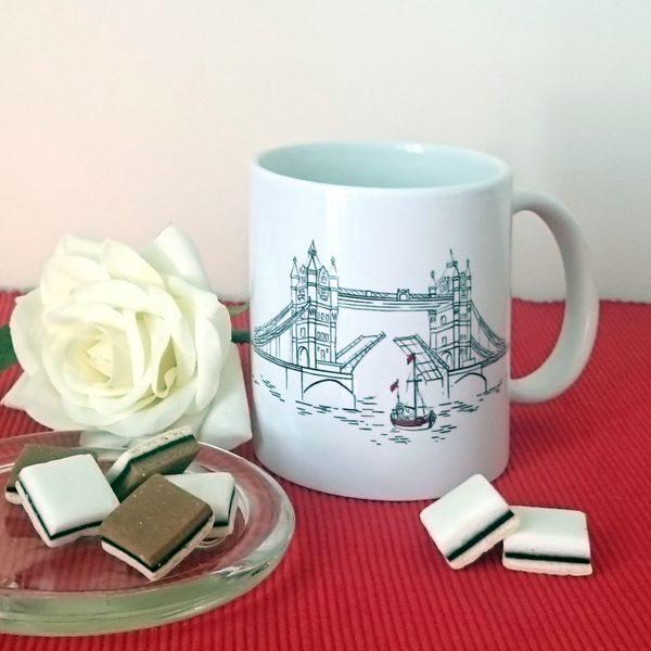 Personalised London Mug - Designer Mugs & Gifts - Talex Interiors