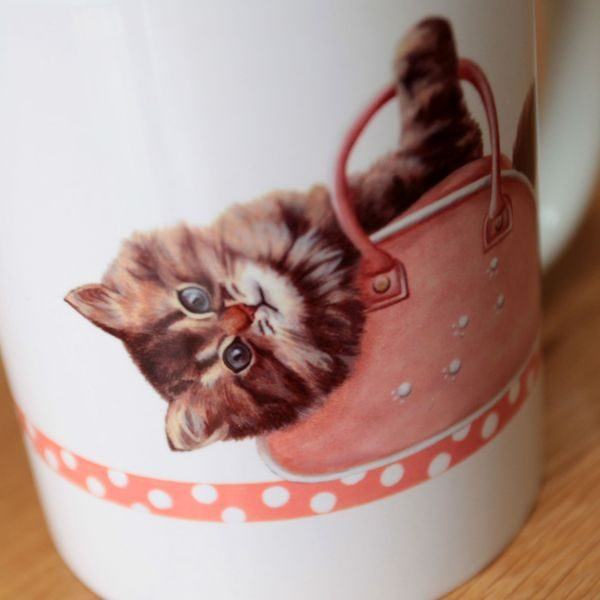 Personalised Cat Mug - Designer Mugs & Gifts - Talex Interiors