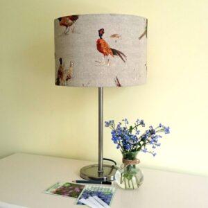 Pheasant Lamp Shade for Ceiling or Floor/Table Lamp - Talex Interiors
