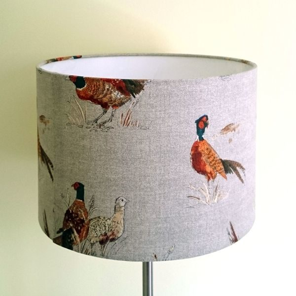 Pheasant Lamp Shade for Ceiling or Floor/Table Lamp - Talex Interiors
