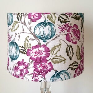 Purple & Teal Lampshade for Pendant/Ceiling Light or Standard/Table Lamp - Talex Interiors, UK