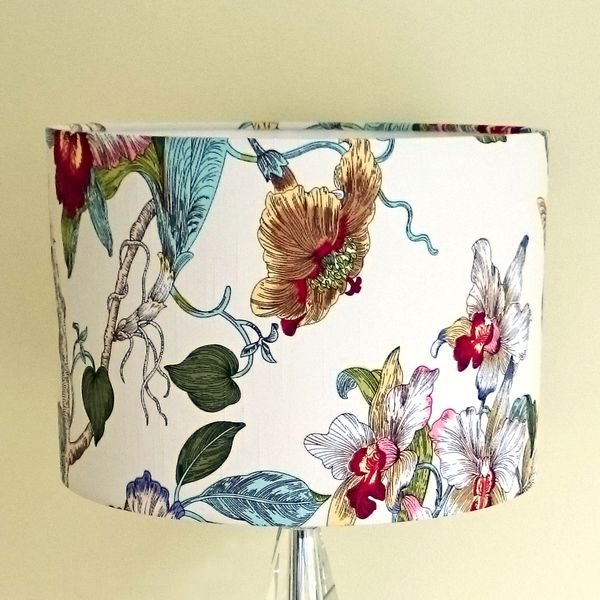 Tropical Bird Lampshade for Ceiling or Table Lamp - Talex Interiors
