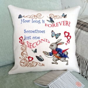 Alice in Wonderland Cushion Cover, Designer Cushions - Talex Interiors