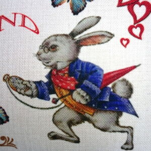 Alice in Wonderland Cushion Cover, Designer Cushions - Talex Interiors