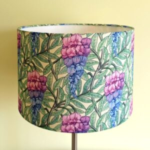 Floral lampshade for Ceiling or Floor/Table Lamp - Talex Interiors, UK