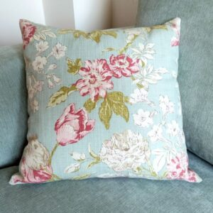 Duck Egg Cushion in Shabby Chic Style - Designer Cushions & Pillows - Talex Interiors, UK