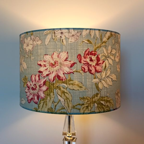 Duck Egg Lampshade for Pendant/Ceiling Light or Standard/Table Lamp - Talex Interiors, UK