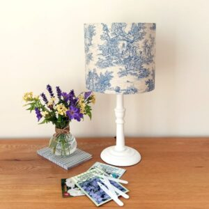 Small White Table Lamp - Designer Lamps - Talex Interiors, UK