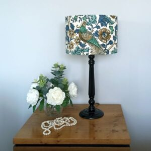 Tall Black Table Lamp - Designer Lamps - Talex Interiors, UK